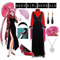 """""""Sailor Moon Villains #1: Wicked Lady"""" by melodystarlight on Polyvore"""