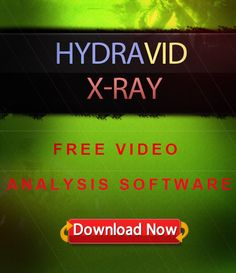 """DOWNLOAD Your FREE Video Analysis Software """"Hydravid X-Ray"""" Marketing Software, Learning, Free, Study, Teaching, Studying, Education"""