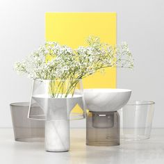 Abito Vases by Sandro Lopez E Flowers, Flower Vases, Home Decor Accessories, Decorative Accessories, Room Diffuser, Deco Floral, Beautiful Flower Arrangements, Vase Centerpieces, Glass Table
