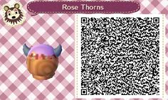 Here's a version of the horned flower crown my mayor has been wearing! The rest of the colors here