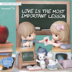 Shop Precious Moments for Limited Edition figurines and find many more figurines, ornaments and Christmas décor. Precious Moments Wedding, Precious Moments Quotes, Precious Moments Figurines, Important Life Lessons, Kids Board, Cute Memes, Chalkboard Art, My Precious, Romantic Gifts