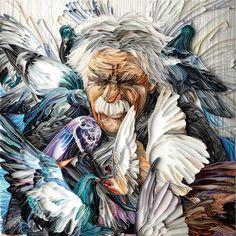 beautiful quilling art. by Yulia Brodskaya