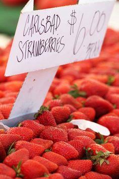 farmer's market strawberries