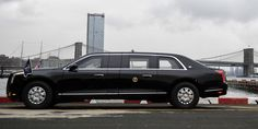 """This Is President Donald Trump's New Cadillac """"Beast"""" Limo"""