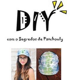 Customize seu boné e saia na moda!      http://segredosdepatchouly.com/2012/09/20/diy-bone-para-elas/