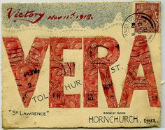 Curious Address sent to Vera Tolhurst (by British Postal Museum & Archive)