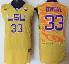 http://www.xjersey.com/lsu-tigers-33-shaquille-oneal-yellow-college-jersey.html Only$36.00 LSU TIGERS 33 SHAQUILLE O'NEAL YELLOW COLLEGE JERSEY #Free #Shipping!