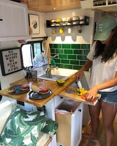 Top Camper Kitchen Ideas You Must Like This 10 - Vanlife & Caravan Renovation