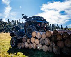 """Ce va capta imediat atentia in legatura cu ATV-ul 𝗧𝗚𝗕 𝗕𝗹𝗮𝗱𝗲 𝟲𝟬𝟬 𝗟𝗧𝗫 𝗘𝗣𝗦 𝗟𝗘𝗗 '𝟮𝟬? Designul sau ultra-modern, farurile cu lumini LED complete, plus faptul ca """"sub capota"""" vei descoperi o motorizare serioasa, la care se adauga mai multe caracteristici ce contribuie la o experienta de off road riding spectaculoasa! 𝐓𝐑𝐀𝐍𝐒𝐏𝐎𝐑𝐓 𝐆𝐑𝐀𝐓𝐔𝐈𝐓! Firewood, Led, Design, Woodburning"""