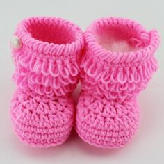 LET THE HOLIDAY SHOPPING BEGIN.SAVE 10% coupon code 061485. Crochet Baby Booties Newborn Crochet Shoes by BabyGirlsGlam, $11.99 www.babygirlsglam.etsy.com