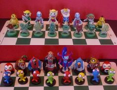 "Not mine: ""The Legend of Zelda: Wind Waker"" chess sett (1)"