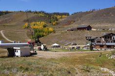 Ski base during the summer at Granby Ranch | Condo rental at www.grandcountylife.com