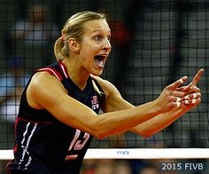 Christa Dietzen is finding ways to combine her love of and through Professional Volleyball Players, Female Volleyball Players, Usa Volleyball, Team Usa, Olympics, Love Her, Leadership, Athlete, Champion