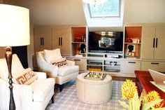 Living Room Tv Shelves Design, Pictures, Remodel, Decor and Ideas - page 2