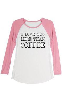 aa3d9505ea15e9 Coffee Love Graphic Tee Boutique Tops