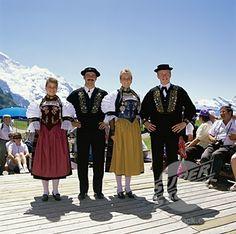 Switzerland People   Switzerland - Traditional Native Dress   Flickr - Photo Sharing!
