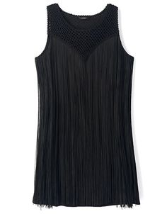 Women's | Dresses | Sleeveless Fringed Dress | Hudson's Bay Guess