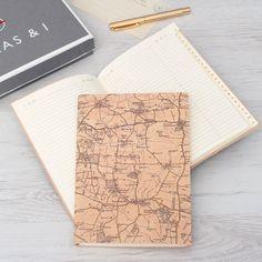 Personalised Vintage Map Address Book by Atlasandimaps on Etsy https://www.etsy.com/listing/228159364/personalised-vintage-map-address-book