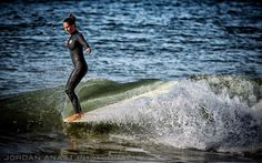 Standing on the nose of the board Walk On Water, Water Water, Hang Ten, Beach Aesthetic, Surf Style, Surf Girls, Beach Fun, Summer Vibes, Fitness Inspiration