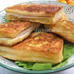 Sándwich de queso a la sartén