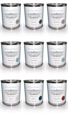 Paint Couture! is a low-VOC, water-based acrylic paint, now available in 27 colors. It is a self-leveling décor, furniture, and cabinet paint. Paint Couture! has a great adhesion capability to existing painted or varnished surfaces. With Paint Couture! there is usually no sanding and no priming.