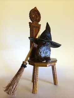 how to: miniature witches hat