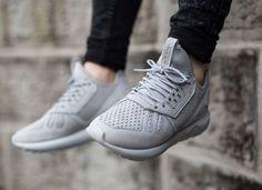 Adidas Tubular Runner Monochrome Stone White (gris) (3)