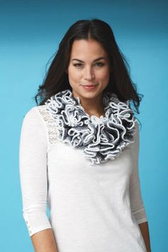 Patons® Pirouette™ Cowl (Knit), large