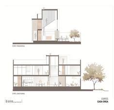 Image 14 of 17 gallery Orea House / Dionne Architects. sections Concept Board Architecture, Section Drawing Architecture, Interior Architecture Drawing, Architecture Portfolio Layout, Architecture Presentation Board, Architecture Panel, Architecture Visualization, Architecture Graphics, Architecture Details