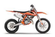 2018 KTM Motocross Model Info Released The 2018 KTM lineup of SX two-stroke and SX-F four-strokes breaks cover today. The 2018 KTM 85 SX gets a new engine and chassis; other models updated.
