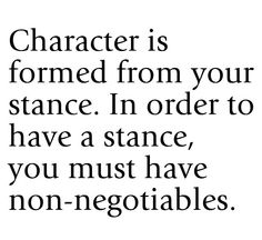 How far can a character be pushed before they become immovable? What would be a situation in which they must stand down?