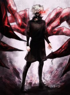 kaneki Ken by jemonei on deviantART