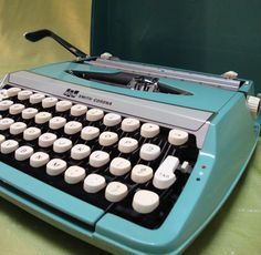 My first typewriter looked just like this.