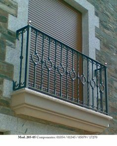 Steel Railing Design, Iron Railings Outdoor, Balcony Railing Design, Iron Staircase, Balcony Grill Design, Steel Gate Design, Grill Door Design, Iron Railing, Balcony Design
