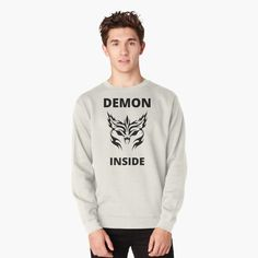 Demon Inside : O - Get yourself a funny custom desing from RIVEofficial Redbubble shop : )) .... tags: #demon  #inside #inner #monster #halloween #2020 #spooky #funny #humour #giftideas #beast #creepy #design #creature #cool #badass #shirtsonline #trends #riveofficial #favouriteshirts #art #style #design #nature #shopping #insidecollection #redbubble #digitalart #design #fashion #phonecases #access #customproducts #onlineshopping #accessories #shoponline #onlinestore #shoppingonline Cute Tshirts, Cool Shirts, Stylish Shirts, Funny Tees, Graphic Sweatshirt, T Shirt, Funny Humour, Pin Pin, Halloween 2020
