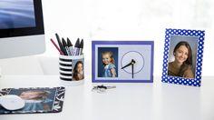 Tuo lapsesi töihin. #työpöytä #idea #sisustus #kuvatuote #valokuva #clickandmix #kuvaverkko © Kuvaverkko Oy