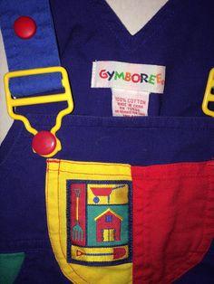 80's Gymboree farm house garden primary colors by TisforTantrum
