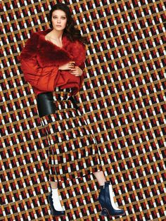 """The Look"" Diana Moldovan for Vogue Mexico September 2015 Fashion Prints, Fashion Art, Editorial Fashion, High Fashion Photography, Editorial Photography, Diana Moldovan, Irina Lazareanu, Model Rock, Fashion Cover"