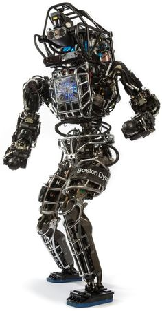 Boston Dynamics' ATLAS: A humanoid robot that might one day save your life Military Robot, Mechanical Engineering Design, Boston Dynamics, Real Robots, Robotic Automation, Humanoid Robot, Challenges, Tecnologia