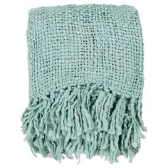 Adorned with fringed trim, this classic woven throw adds a cozy finishing touch to your bed or sofa. Product:  Throw Cons...