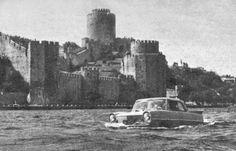Boğaz'da yüzen araba #istanbul #istanlook #nostalji #birzamanlar