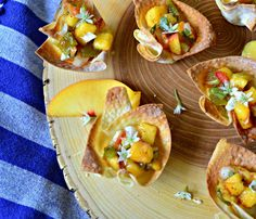 This is How I Cook: Peach, Green Chile and Sage Salsa Cheese Bites