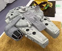 Millennium falcon cake. - Cake by BakeryBoutique