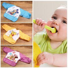 NEW Cute Cartoon Children Baby Waterproof Long Sleeve Self Feeding Bib Apron HT   eBay
