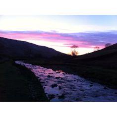 Quiet evening stroll, Yorkshire UK