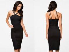 Bodycon Dress, Formal Dresses, Black, Fashion, Dresses For Formal, Moda, Body Con, Formal Gowns, Black People