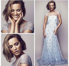 Beautiful Marie Sernholt in the most fantastic dress! Designer : Ida lanto