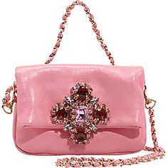 Juicy couture clutch! I just love the jeweled detail!