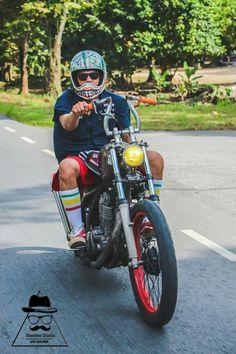 Sr500, Bobber Bikes, Chopper Motorcycle, Old Skool, Choppers, Custom Bikes, Toys For Boys, Bobs, Hot Rods