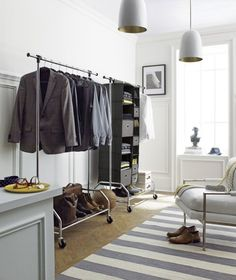 Inspirational Schauen Sie sich diese kreative und interessante Ideen f r Kleiderst nder Design an und ordnen Sie Ihre Kleidung auch ohne Kleiderschrank ganz bequem ein